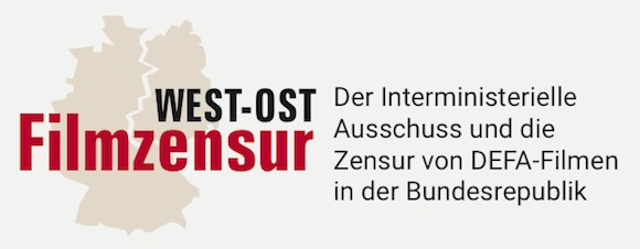 Logo Filmzensur OST-WEST